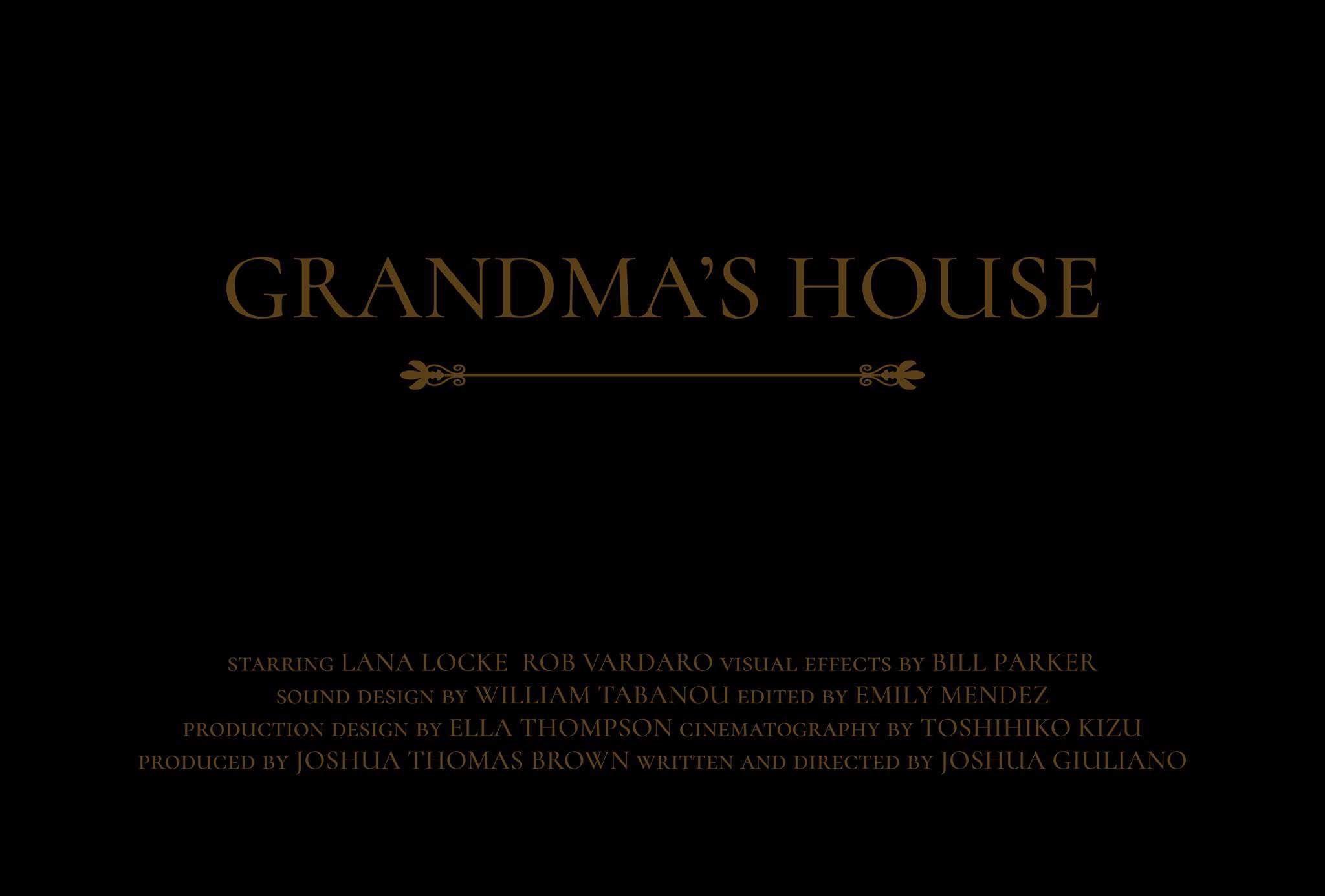 """Grandma's House"" screens at LA Shorts IFF"