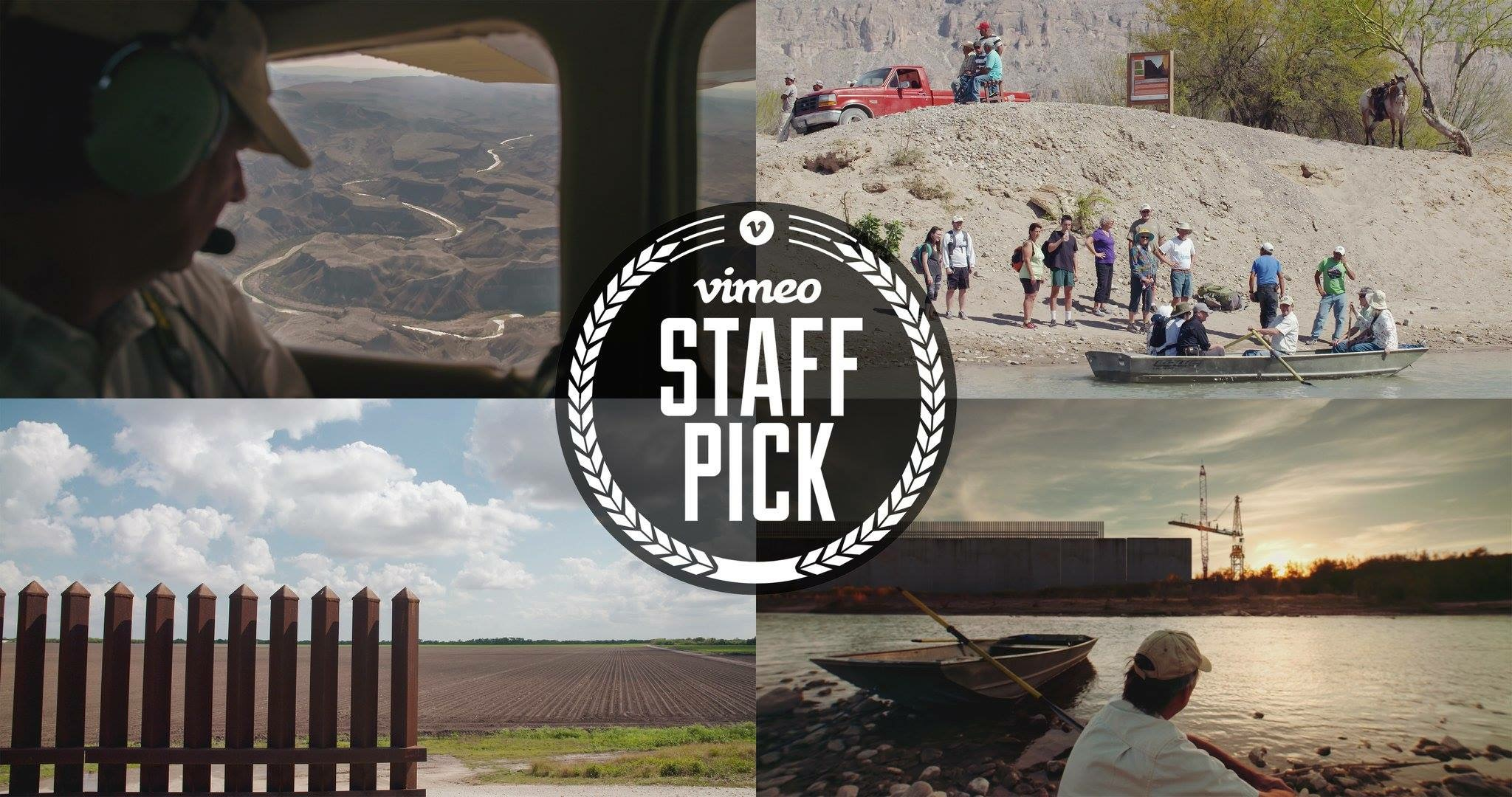 "Mel Films documentary ""Ferryman At The Wall"" gets Vimeo's Staff Pick Of The Week and is featured on Meet The Press with Director David Freid"