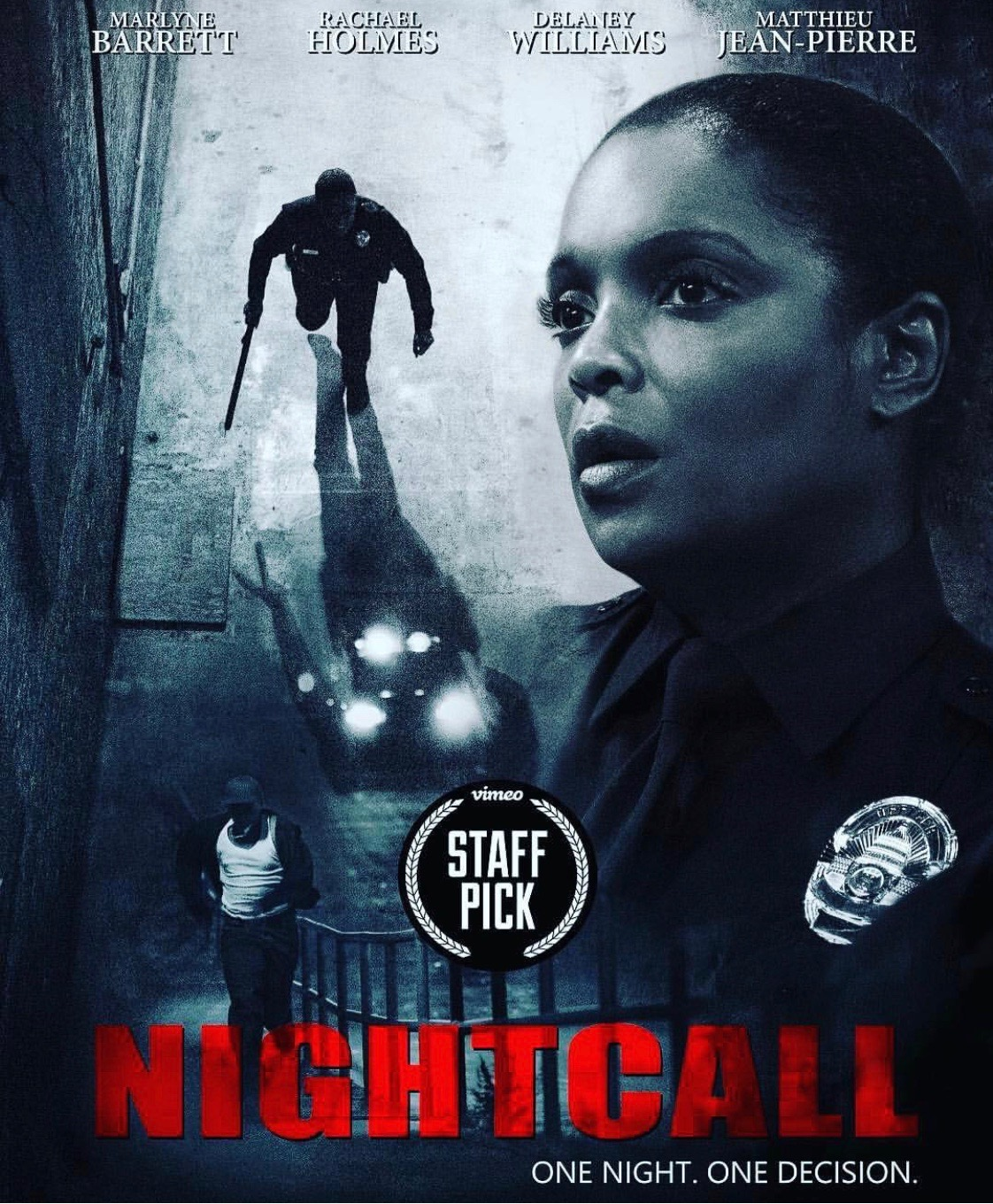Night Call is selected as Vimeo's Staff Pic of the Week