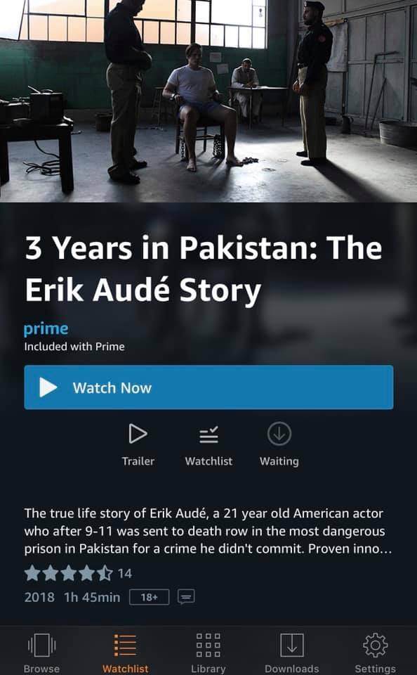 Feature documentary now available on Amazon Prime