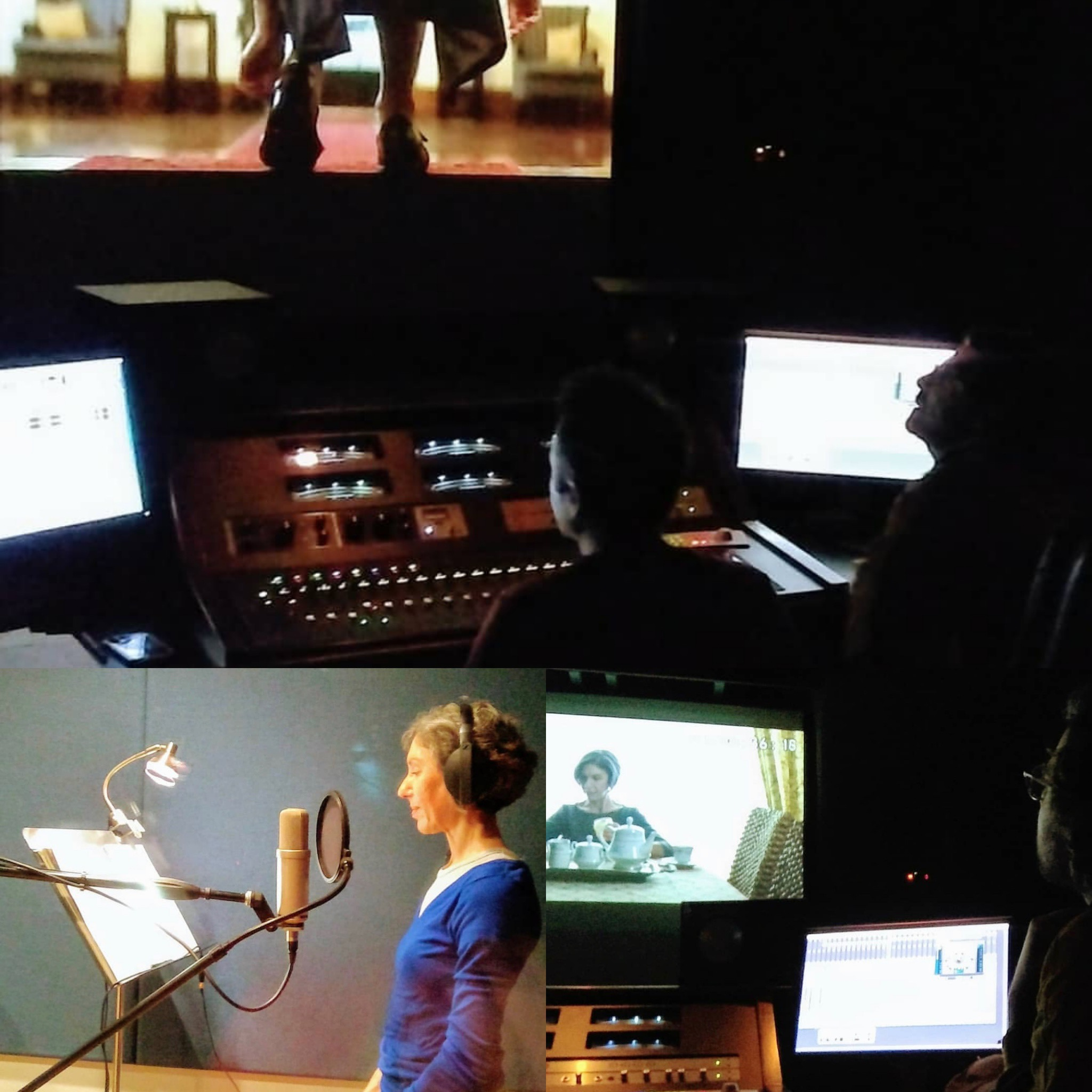 """ADR session on AFI Thesis Film """"Florence"""""""