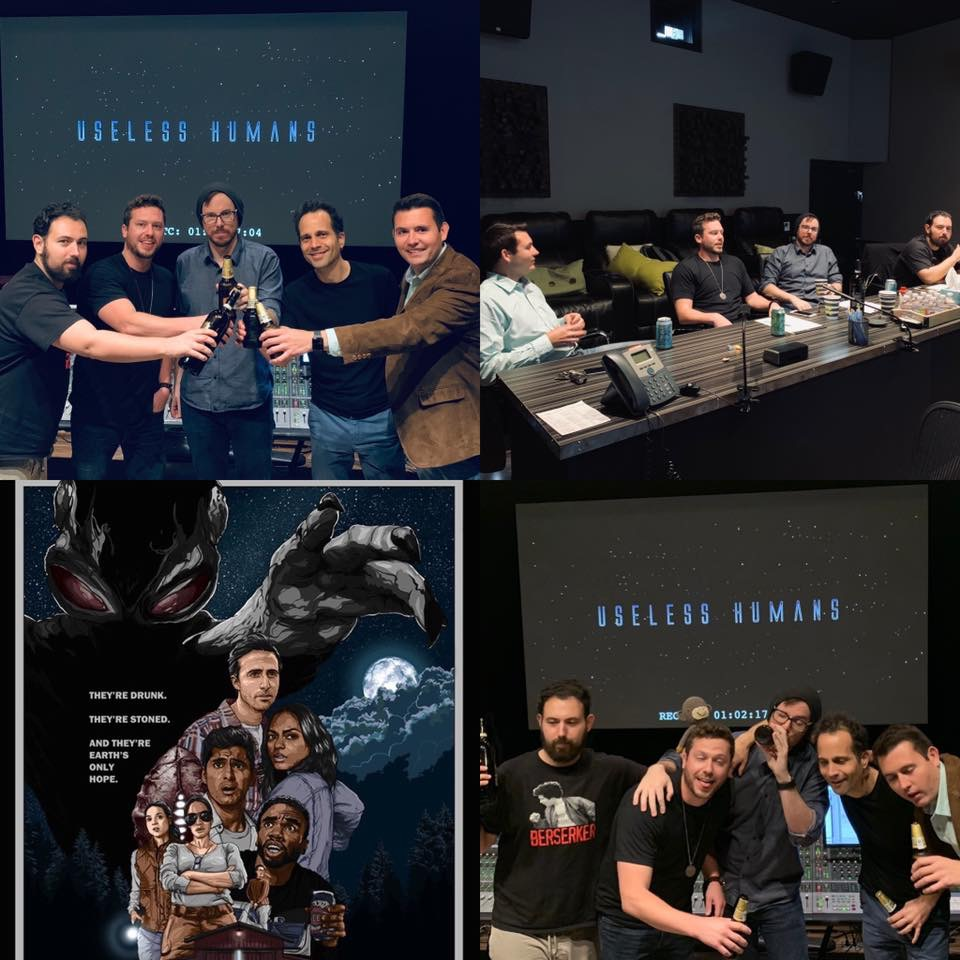 """Mix review at Monkeyland Audio on Adventure Sci-fi comedy feature """"Useless Humans"""""""