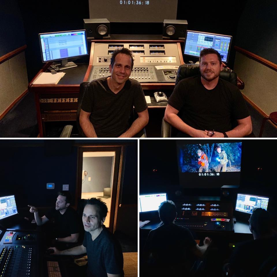 "Sound design and mixing sessions on feature film ""Useless Humans"" with Director Stephen Ohl and Kinogo Pictures"