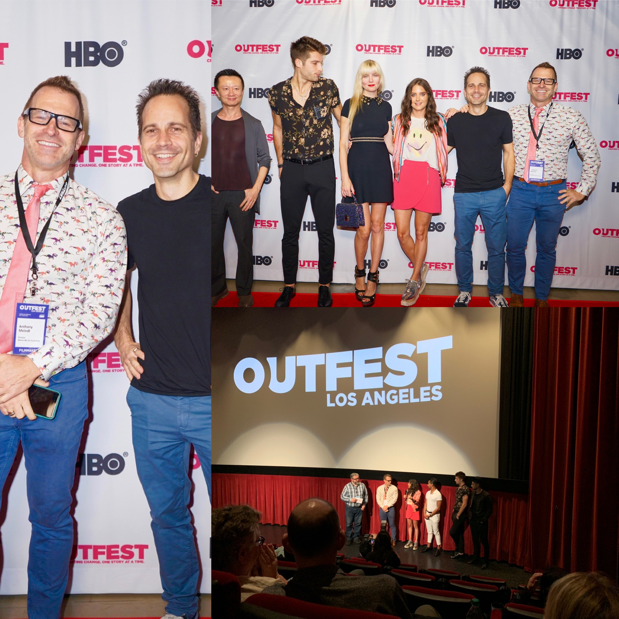"Feature ""Where We Go from Here"" premieres at Outfest to a sold out crowd"