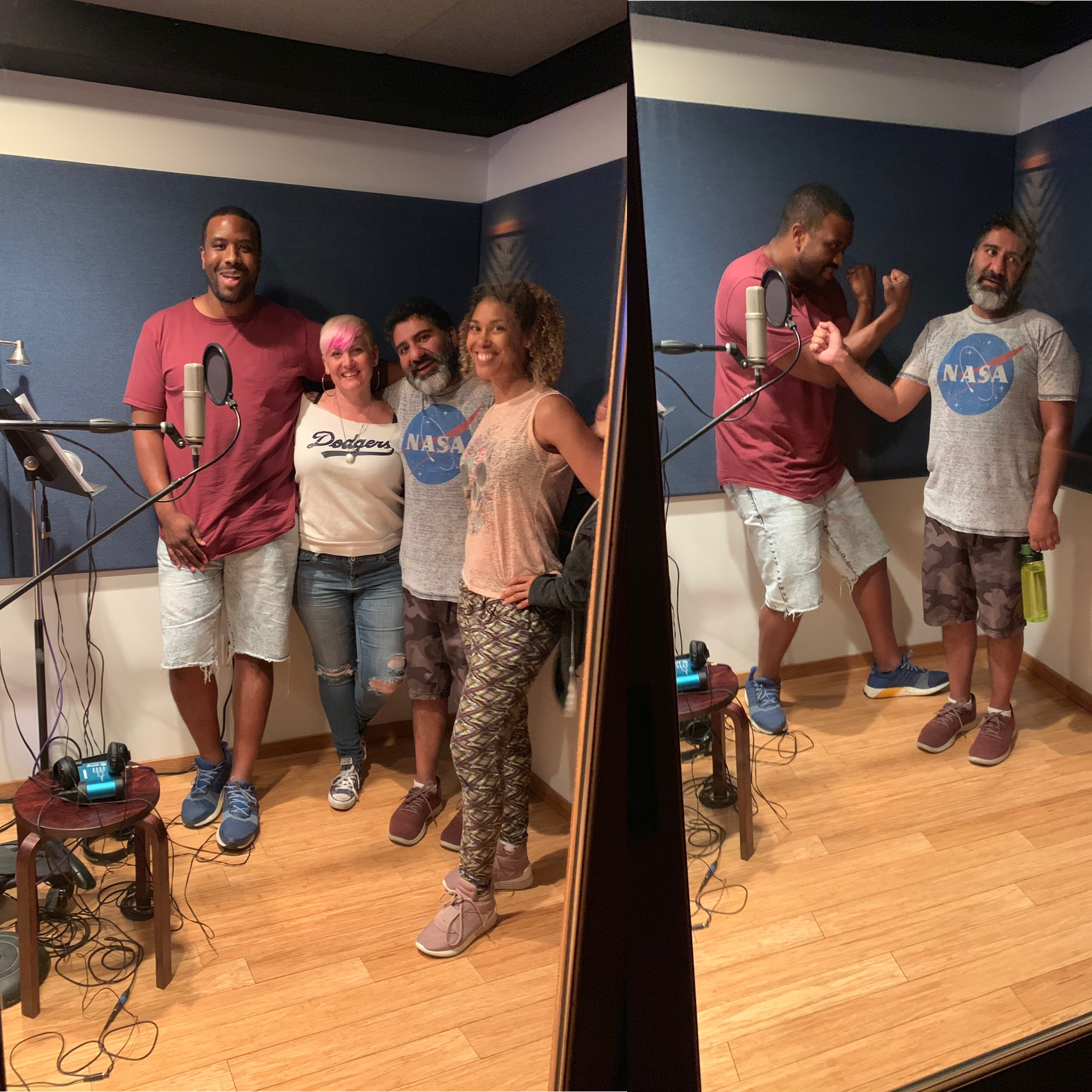 """Loop Group session with this fantastic crew on feature film """"The Illegal"""""""