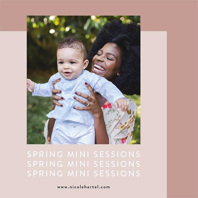 « ➡️swipe for more info » 🌺🌸🌼Hello all! I am very happy to be booking Spring Mini Sessions to celebrate the sunshine and blooms in the month of May. Sessions for anyone and everyone: couples, families, maternity, friends, pets, kids, you name it!  Two dates offered in Geneva: 🌸Saturday May 18 at Jardin Botanique 🌼Saturday May 25 at Parc de la Grange!  Spots are limited so please visit my website for complete info and sign up! Hope to see you there 🌞 link in profile !