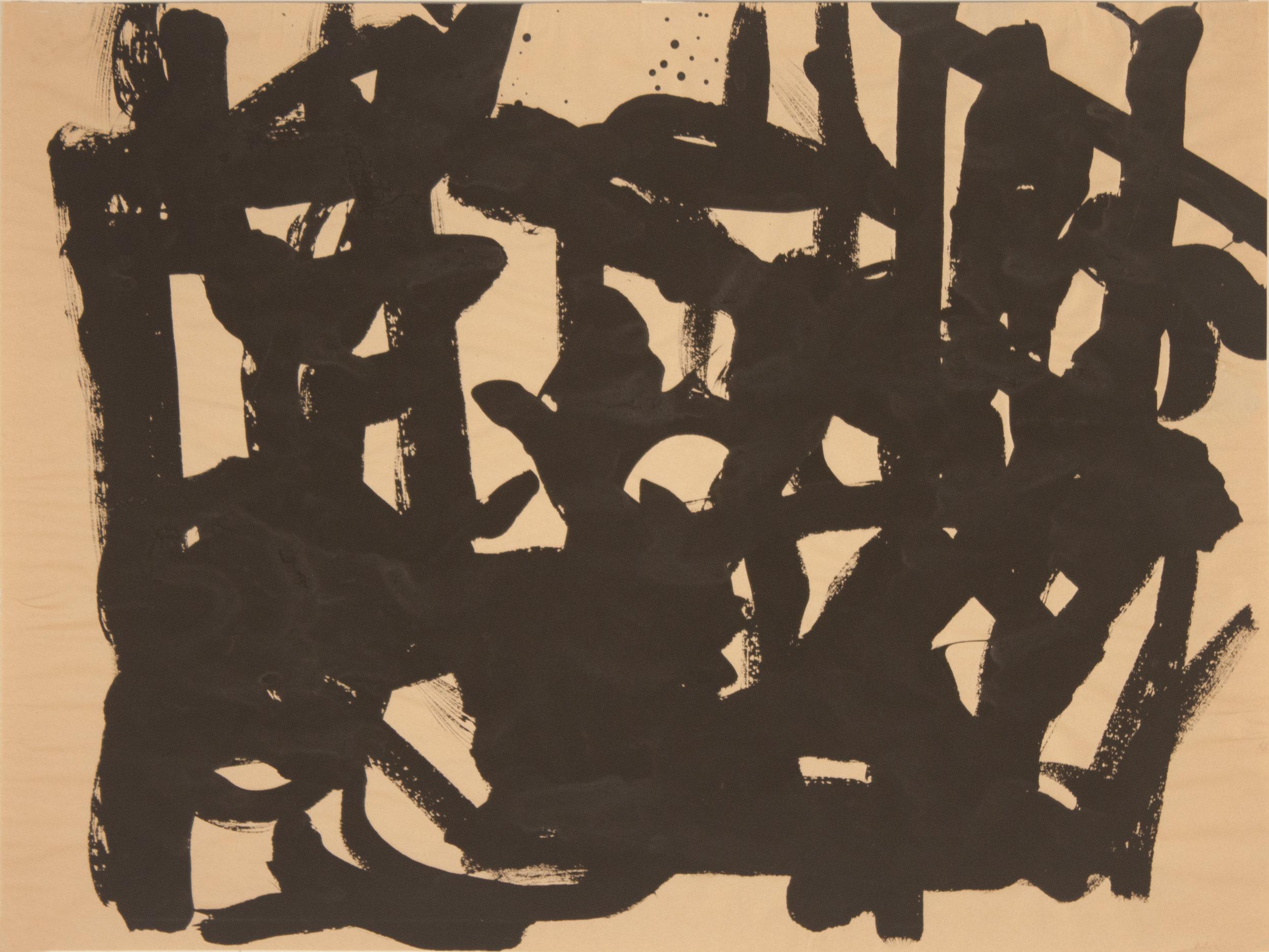 Brush Drawing 6, 1979