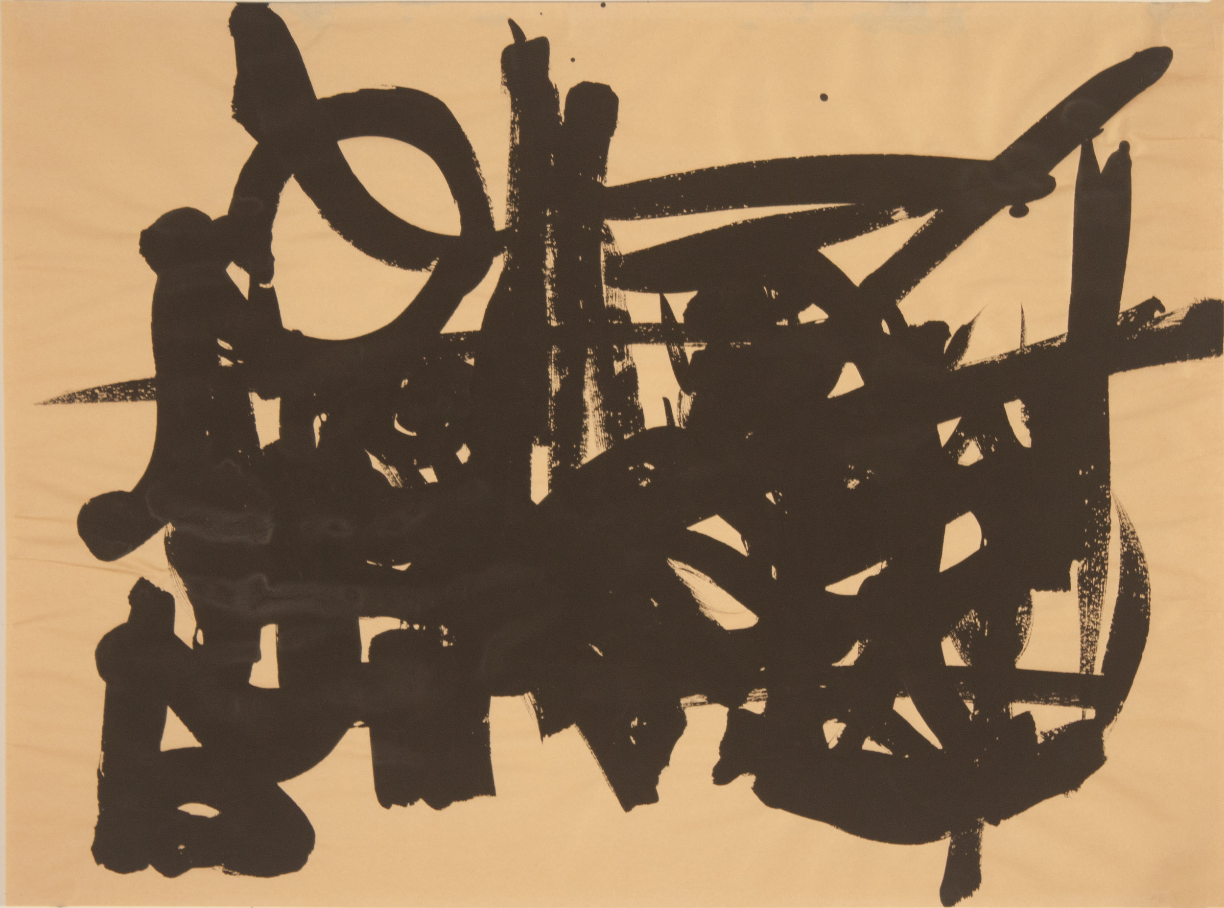 Brush Drawing 7, 1979