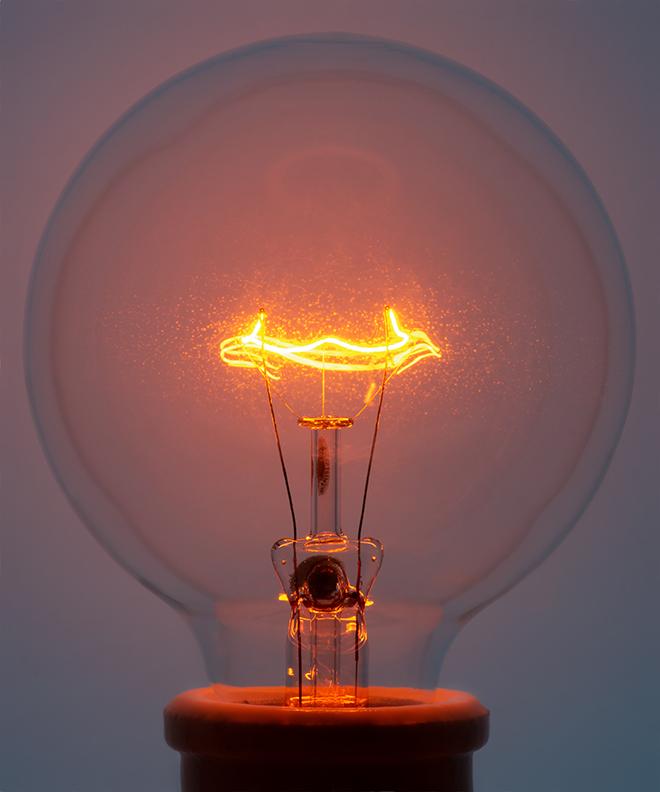 Light Bulb 4, 2018 Pigment Print