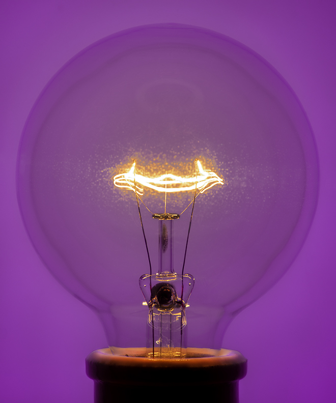 Light Bulb 3, 2019 Pigment Print