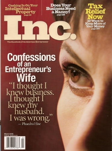 Hise entrepreneur wife