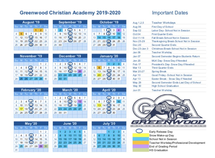 Click the calendar for a printable copy.