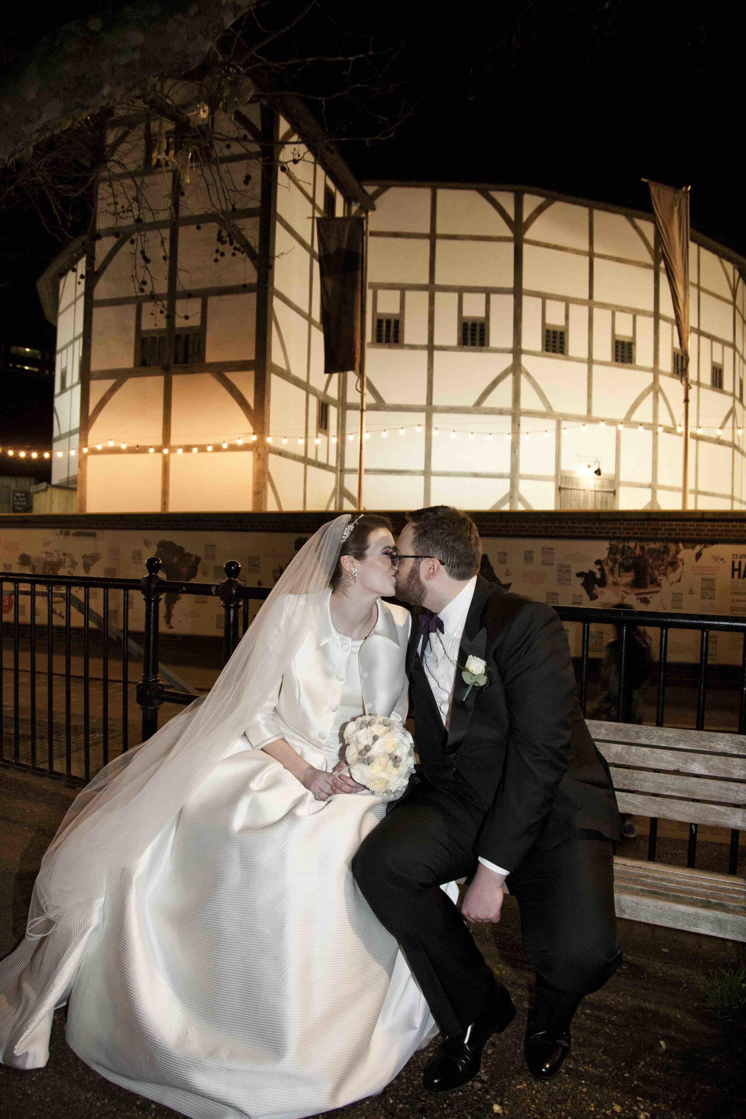 13 | Winter Wedding | Shakespeare's Theatre | The Underglobe | Lamare London.jpg