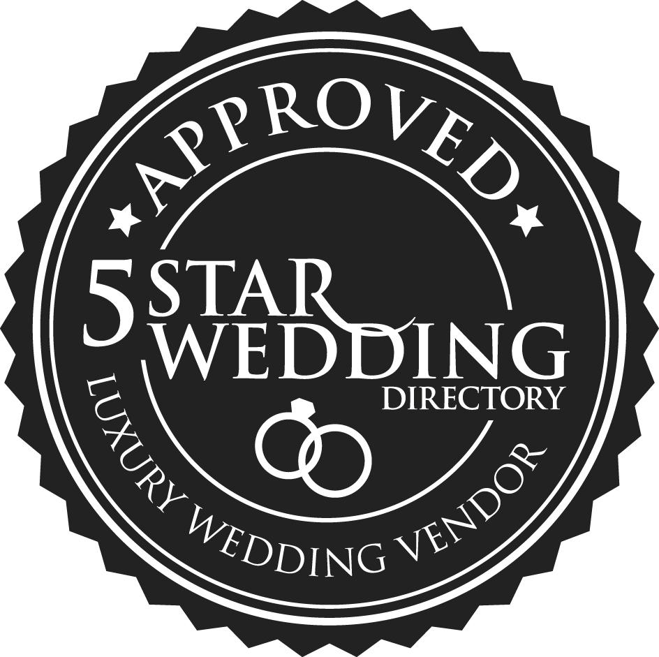 5 Star Weddings badge   Zouch & Lamare.jpg