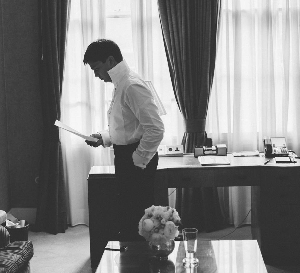 GROOM READING SPEECH | WEDDING | LAMARE LONDON