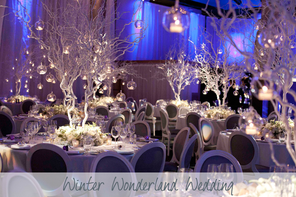 Winter Wonderland Wedding | Winter Wedding | The Underglobe Wedding
