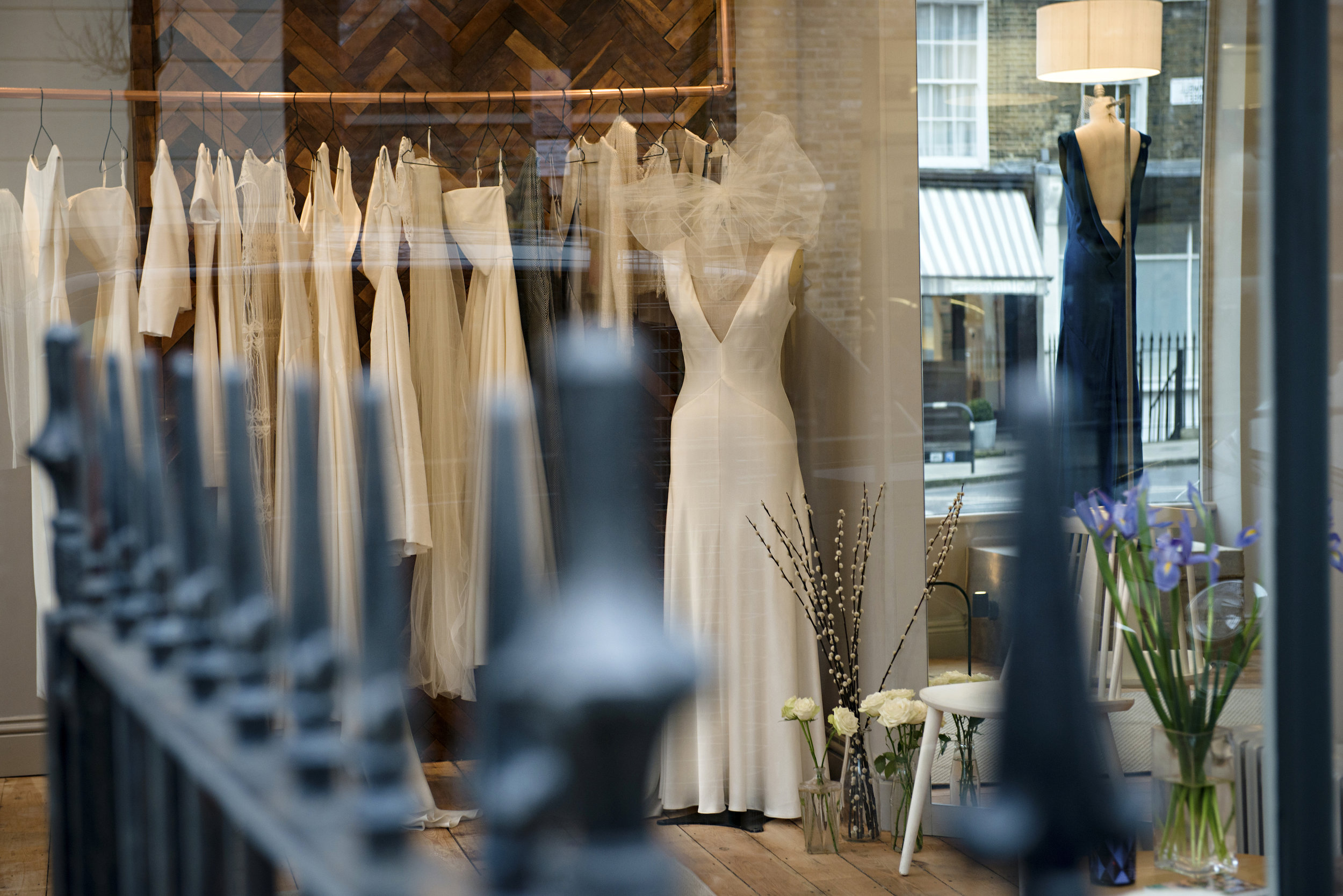 Andrea Hawkes Bridal Boutique | Photo by Carey Sheffield
