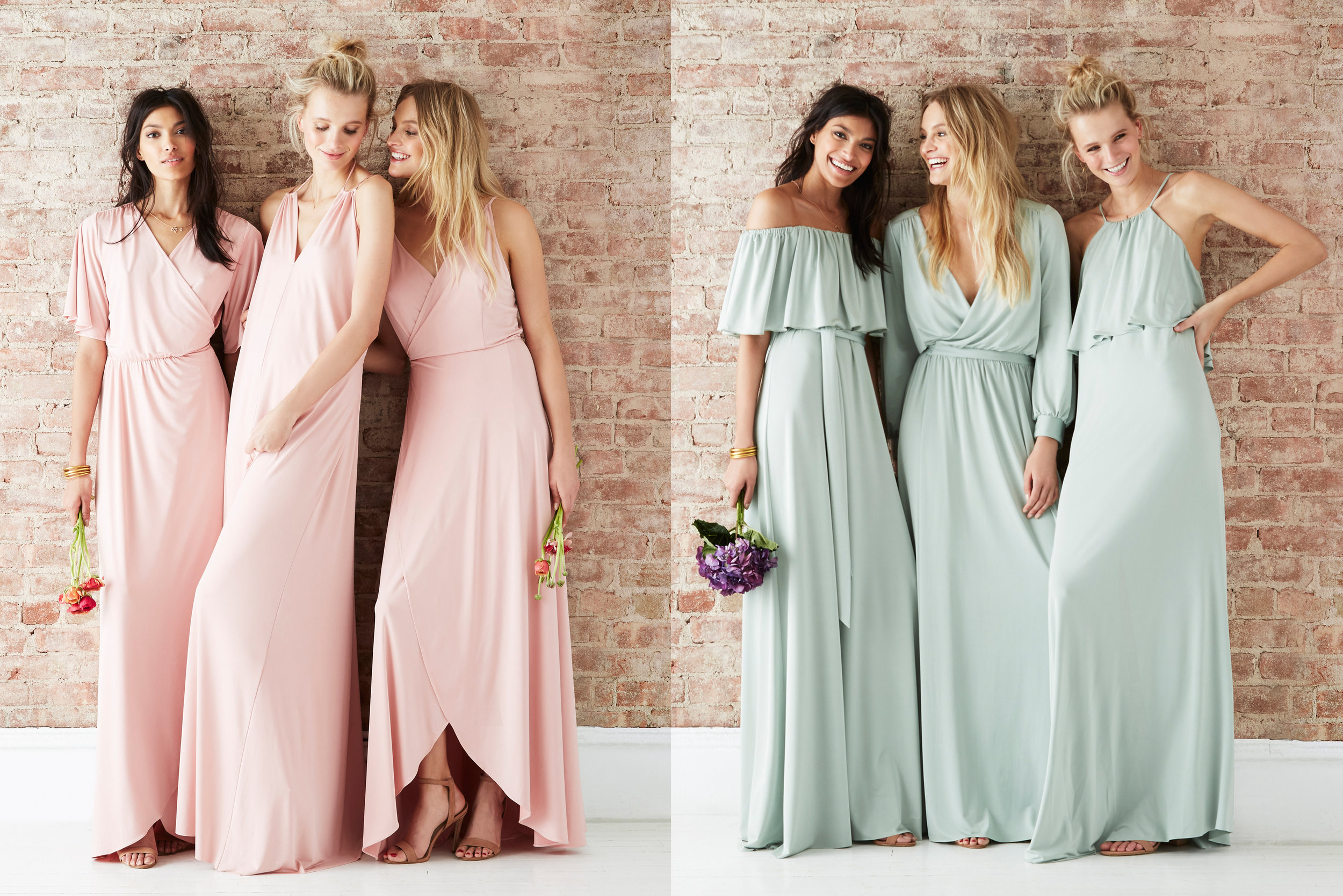 Twobirds bridesmaid | Bridesmaids dresses | Luxury wedding planner Lamare London
