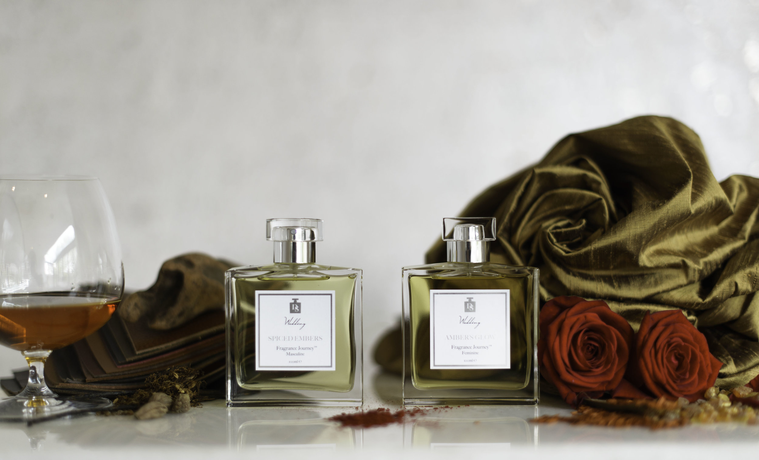 Radiate | Amber's Glow and Spiced Embers | Design in Scent | Lamare London | Luxury Wedding Planner London