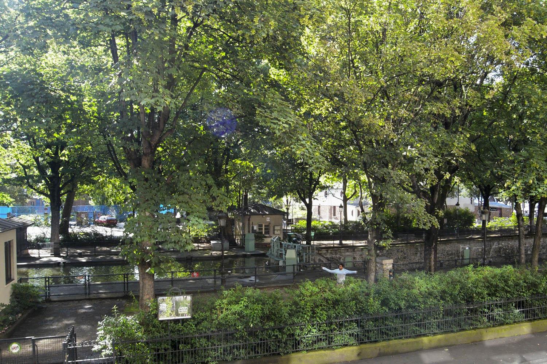 Canal St Martin, Paris, France  Depuis Juin 2008