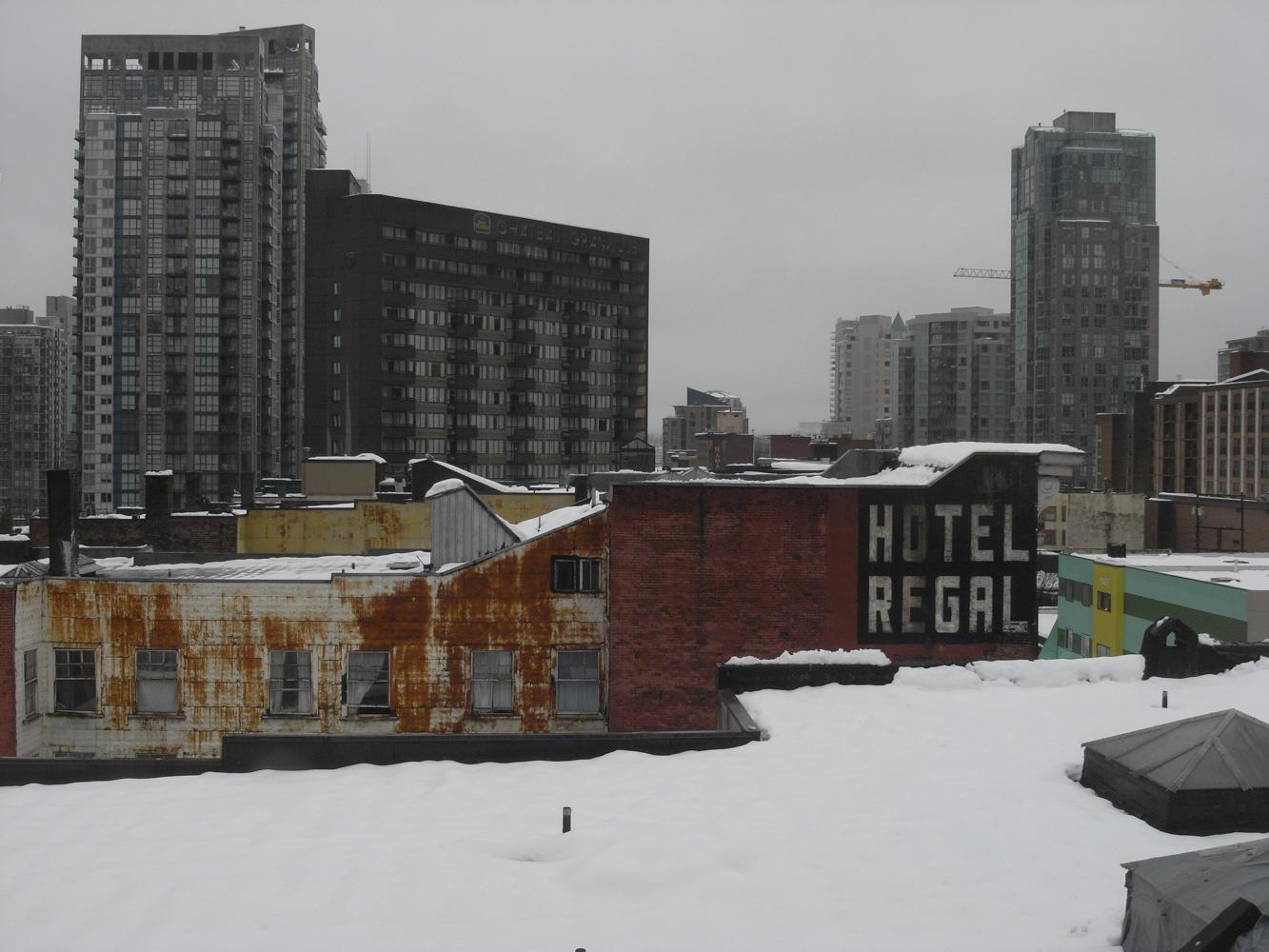 Vancouver, Colombie britannique, Canada - Decembre 2008