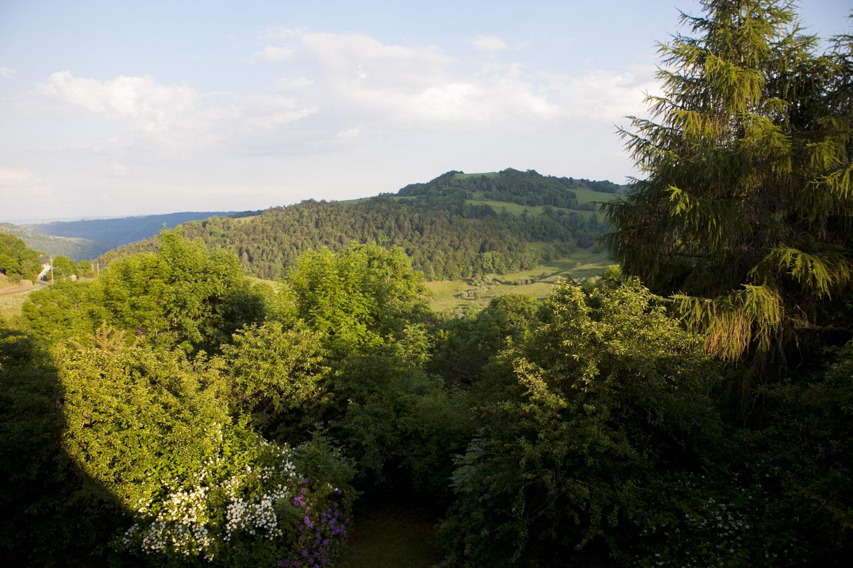 Vèze, Auvergne, France - Juin 2010
