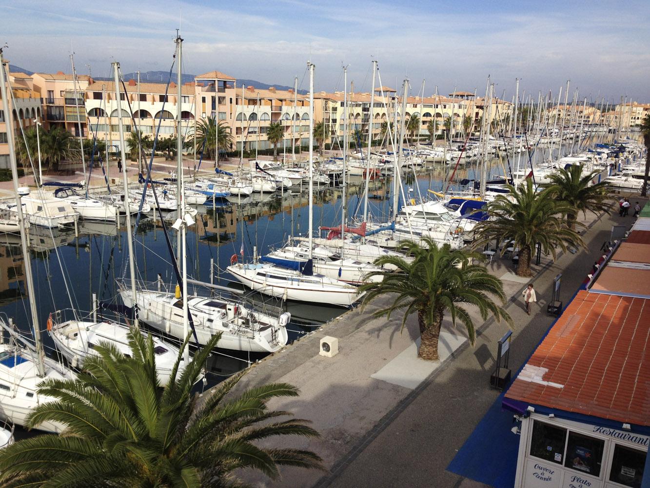 Port-Leucate, Languedoc-Roussillon, France  -  Octobre 2015