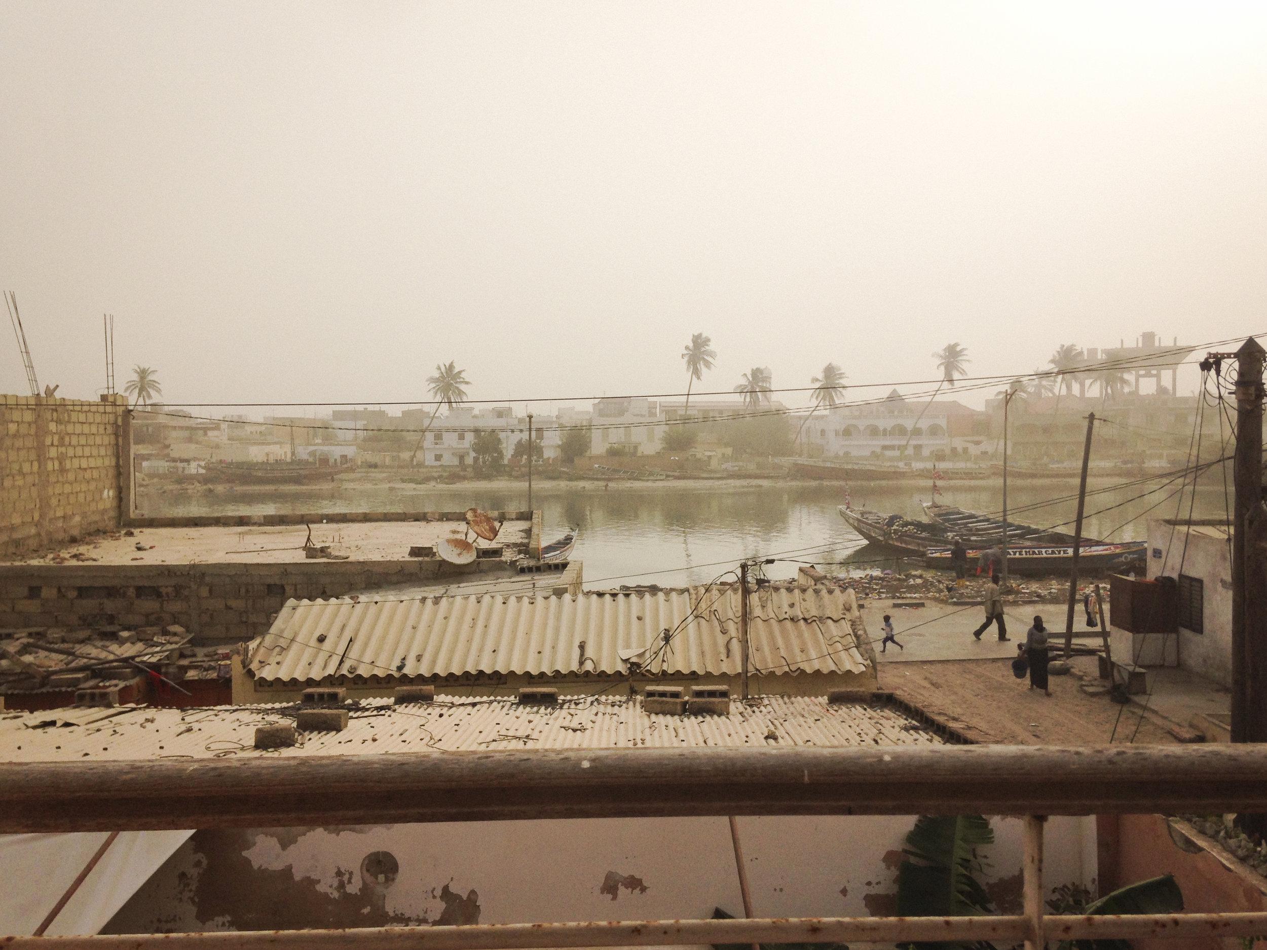 Saint Louis, Sénégal. Décembre 2016