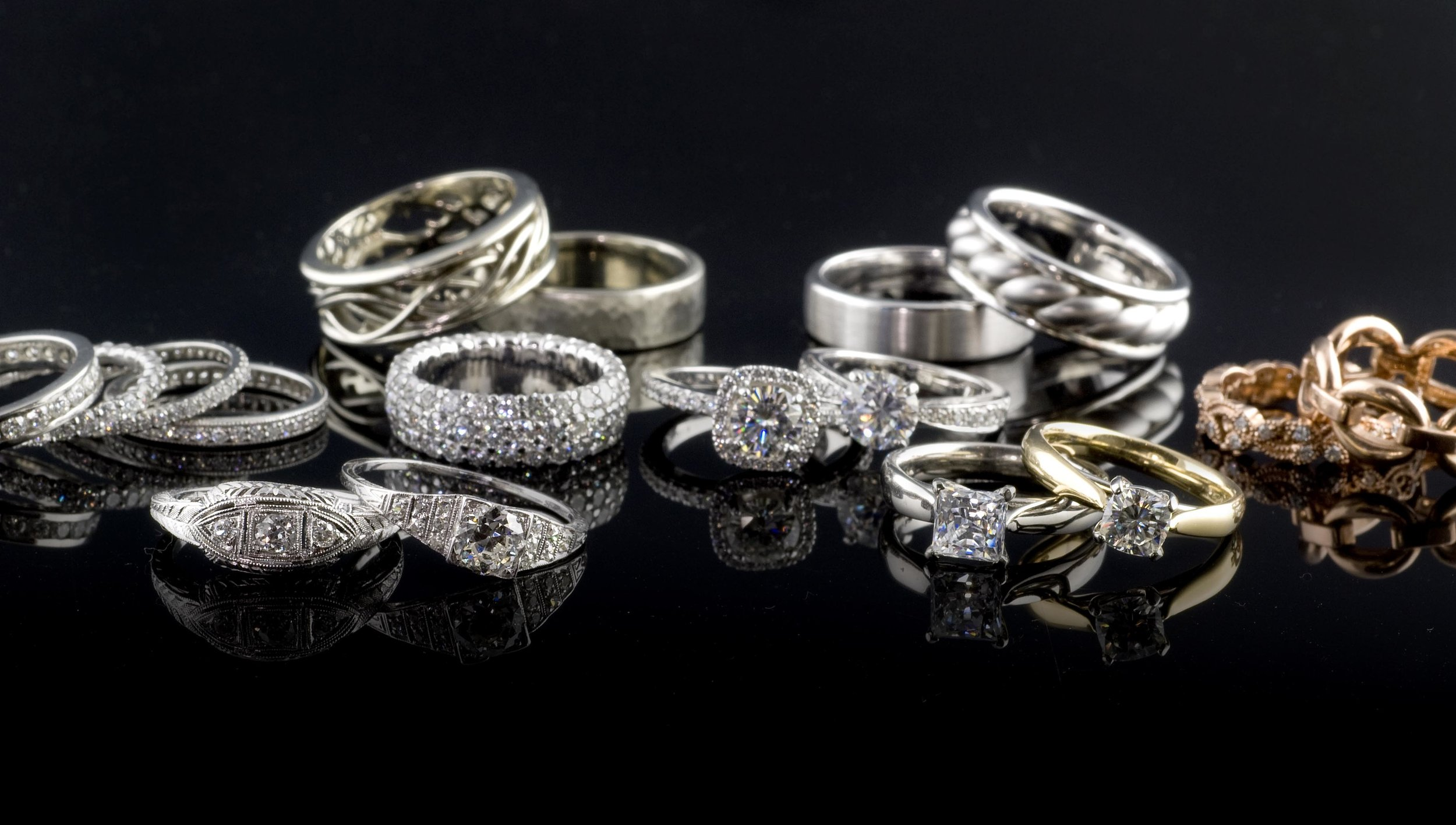 Whether you're imagining a custom design or an antique-inspired bridal set, Krombholz Jeweler's goal is to help make your experience fun and… engaging. They offer custom one-of-a-kind designs as well as an inspired collection that you won't find at the mall.