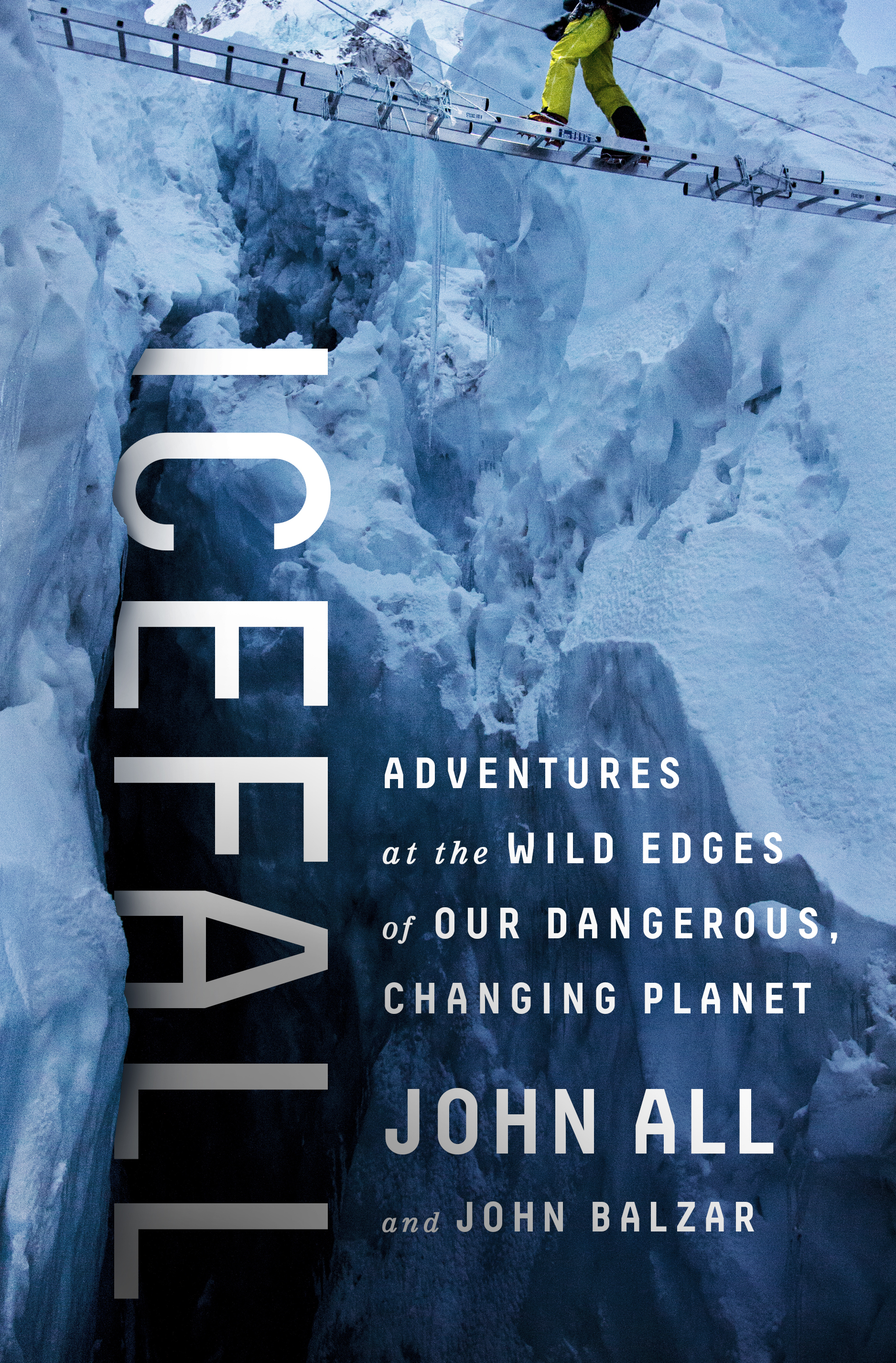 My book is now available! - My crevasse fall, climbing Mt. Everest step by step, adventures in Africa and Central America... While exploring climate change impacts around the world, I've seen a lot of amazing things and they are all in my book ICEFALL ... Buy it on Amazon! (Link).