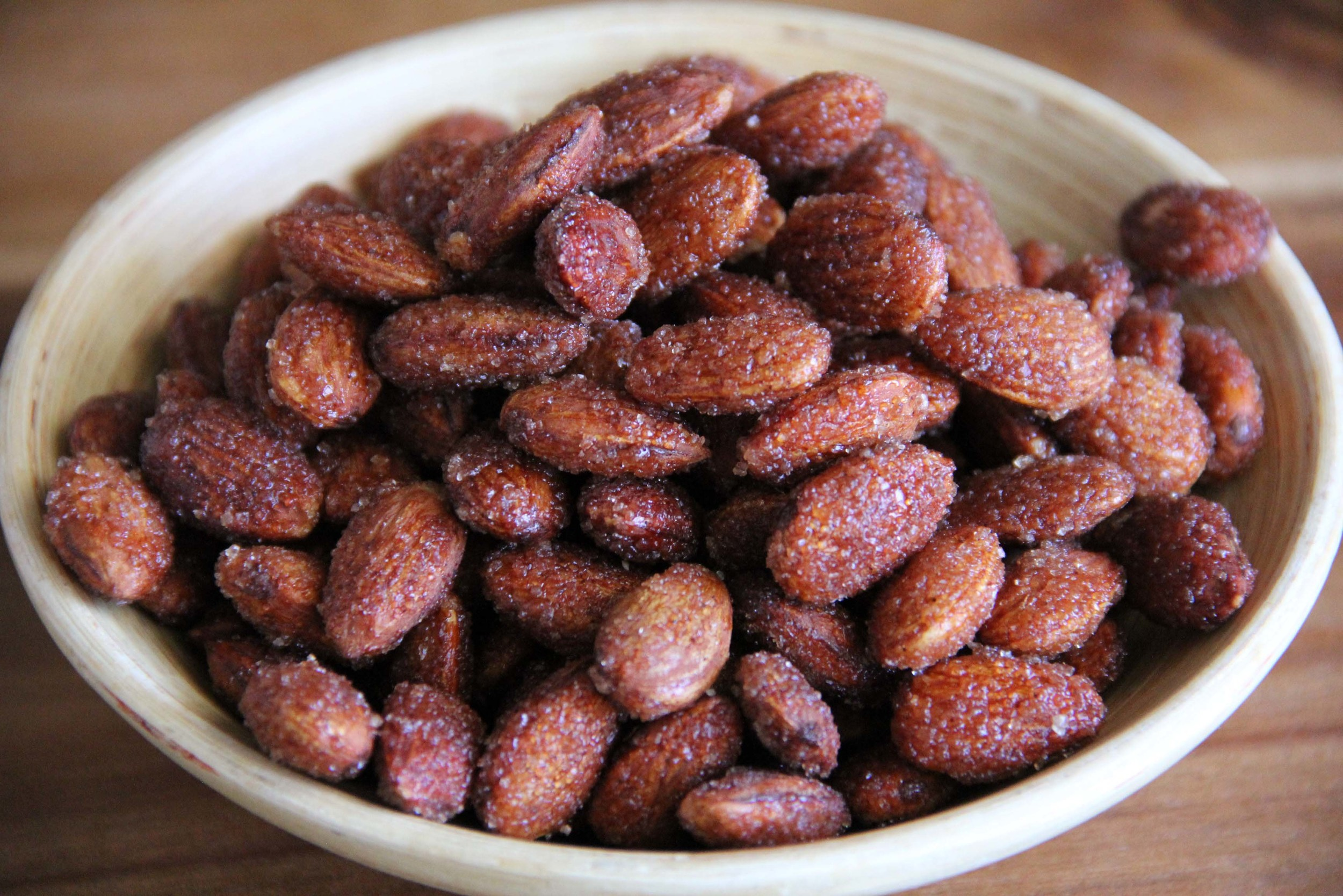 Made By Marissa > Handmade in Hawaii > Product > Cinnamon Agave Almonds > Product 4.jpg