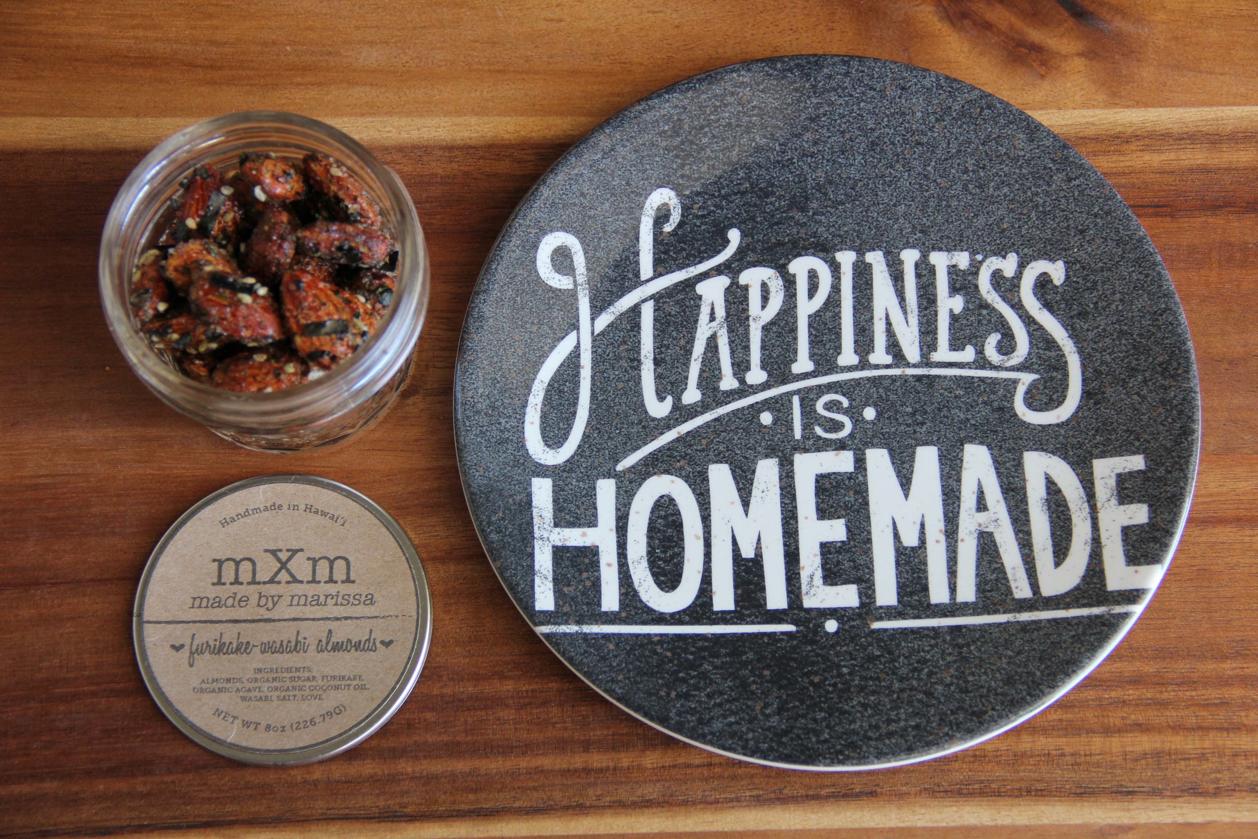 Made By Marissa > Handmade in Hawaii > Product > Furikake Wasabi Almonds > Product 1.jpg