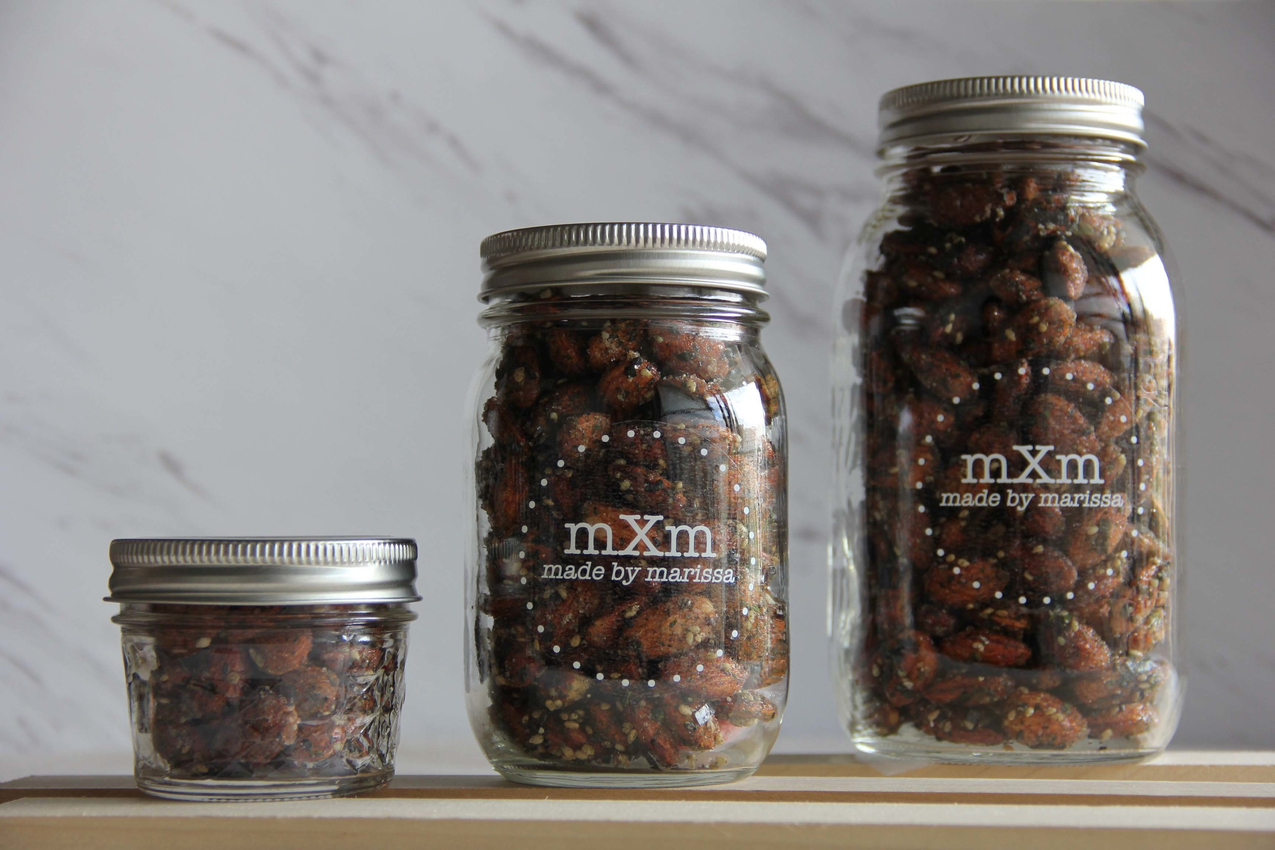 Mason Jar Sizes: 1/4 Pint, Pint, Quart