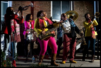 Photo courtesy of The Pinettes Brass Band