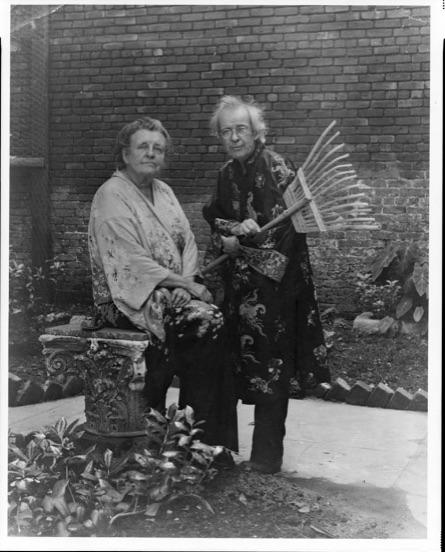 Pops Whitesell & Frances B. Johnston