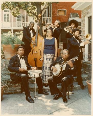 Photo courtesy of Hogan Jazz Archive, Special Collections, Howard-Tilton Memorial Library. Tulane University, circa 1977. https://digitallibrary.tulane.edu/islandora/object/tulane%3A15132