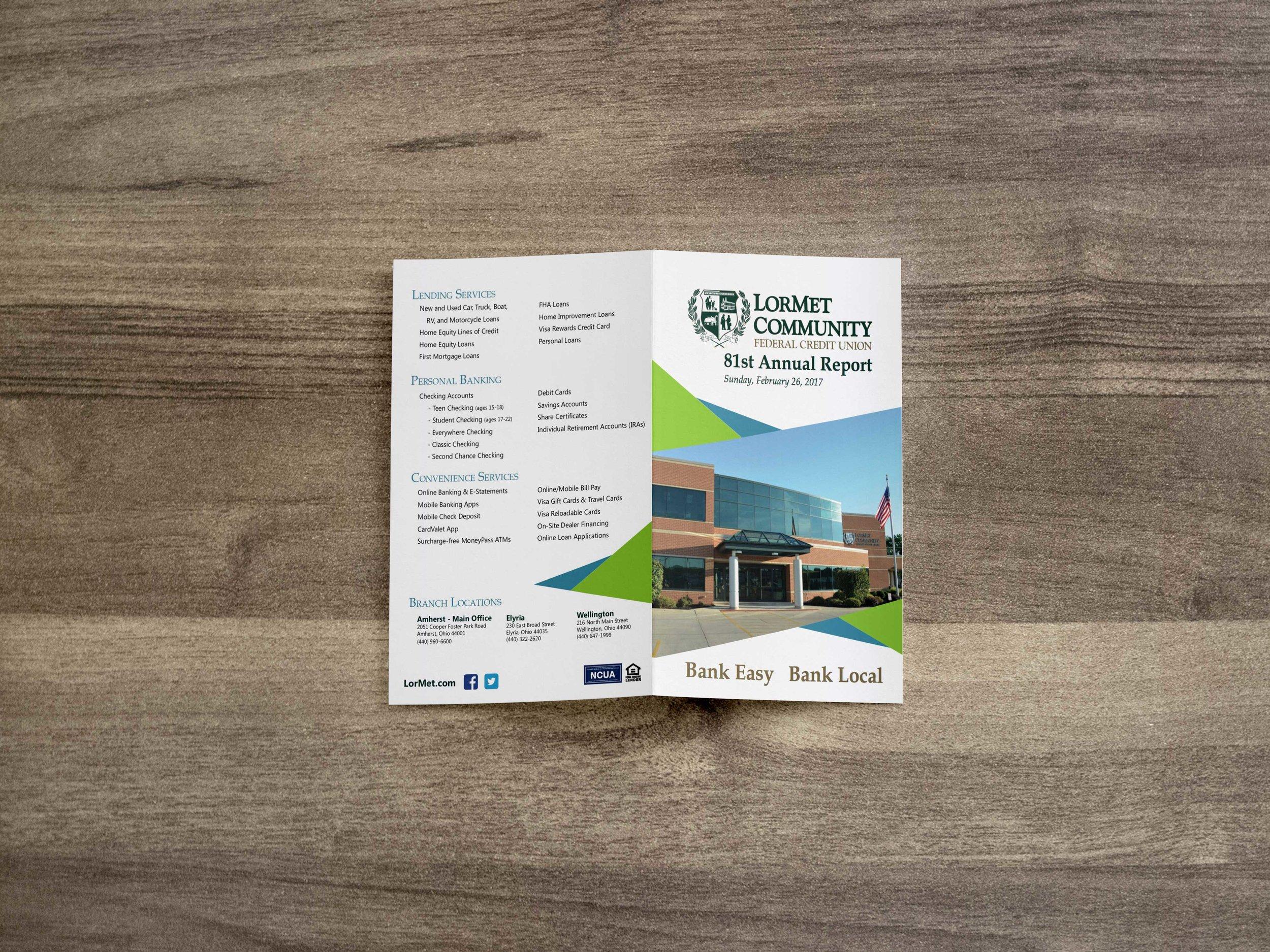 Annual Reports — BRIAN SZCZODROWSKI DESIGN