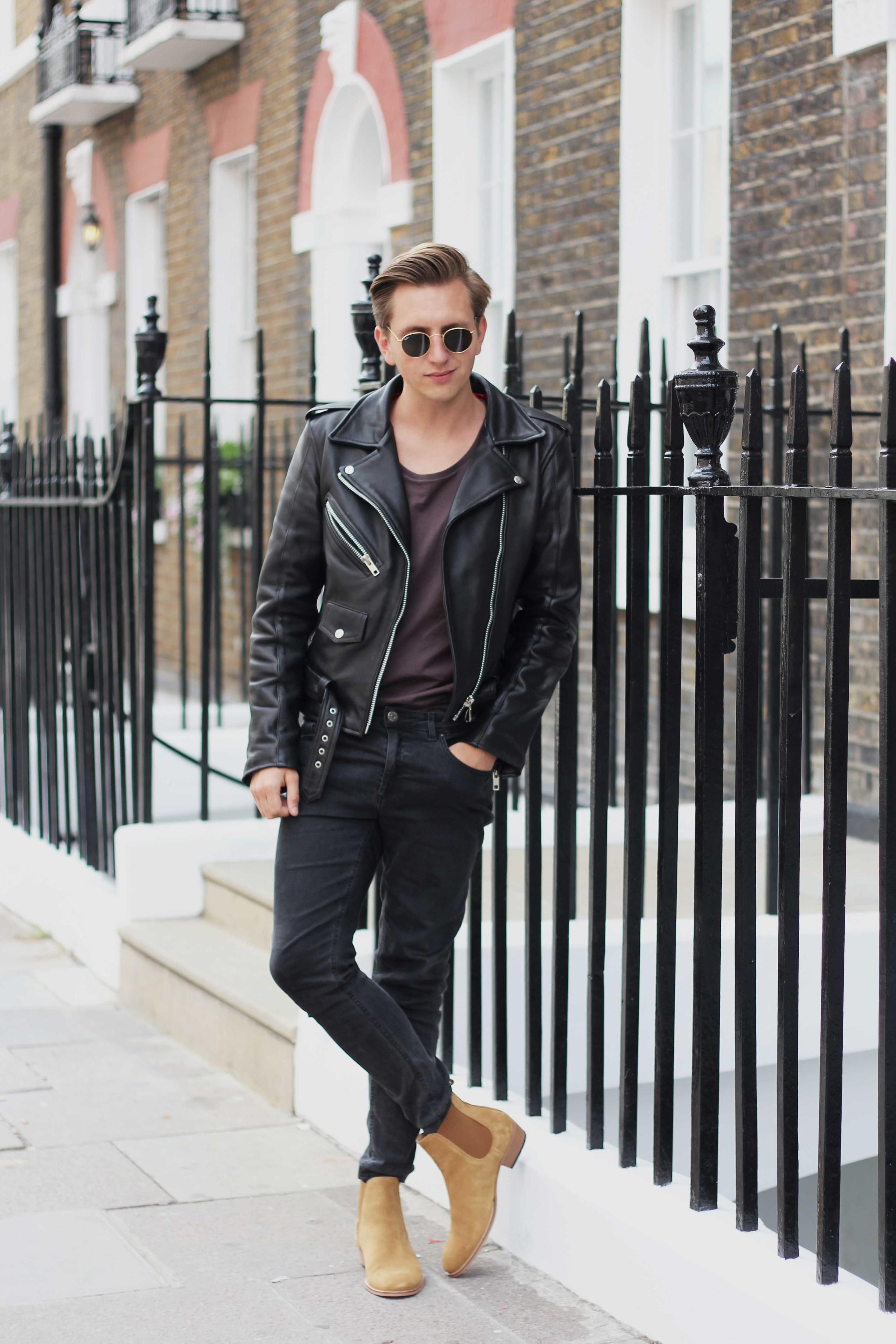 ootd_menswear_fashion_london_acnestudios_sandro_rayban_rockandroll