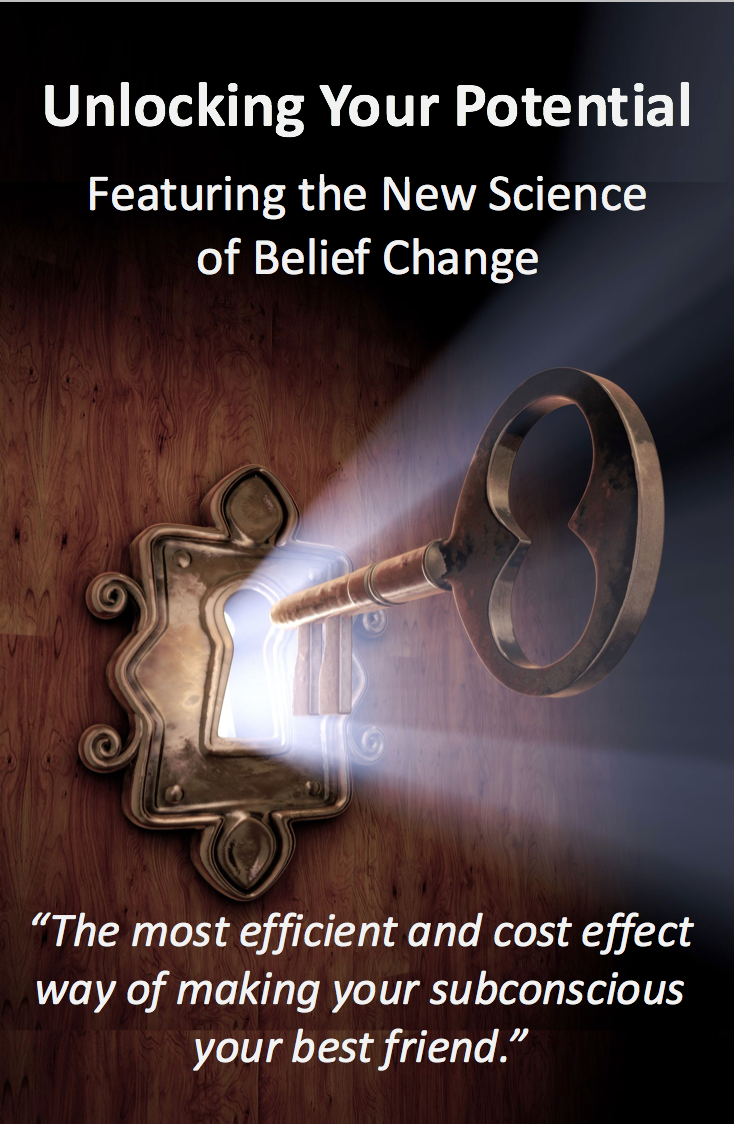 Unlocking Your Potential Online Belief Change Course.  The main benefits derived from learning how to program beliefs into your subconscious include:  1. The power to set a new direction in your life.  2. The ability to re-pattern a belief that doesn't serve you or one that's been holding you back. Offered at the Special Rate of $33.00