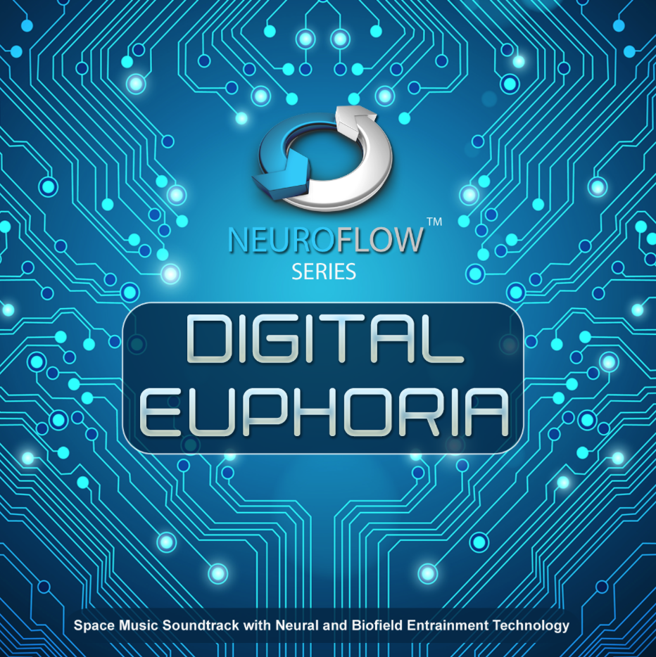 DIGITAL EUPHORIA Space Music Soundtrack with Neural and Biofield Entrainment Technology