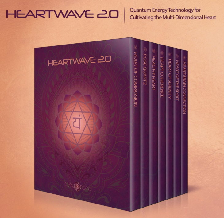 HeartWave 2.0 - An energetically encoded digital media program to cultivate the Higher Intelligence of the Heart