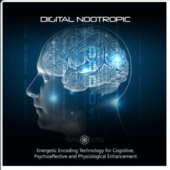 Digital Nootropic - Use this energetically encoded digital media program to transmit the amplified energetic signature of some of the finest and highest quality nootropic substances known to science.