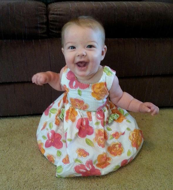 My granddaughter Kylie.