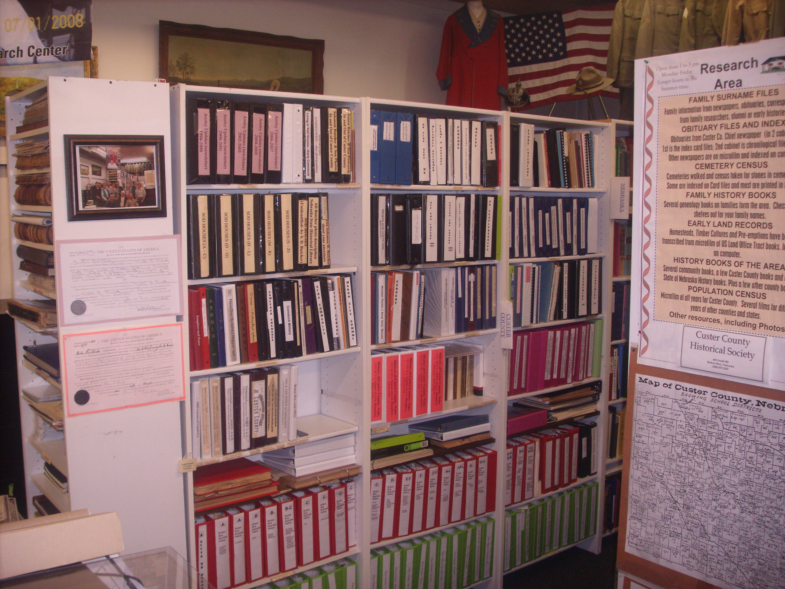 Custer County Museum Research Center