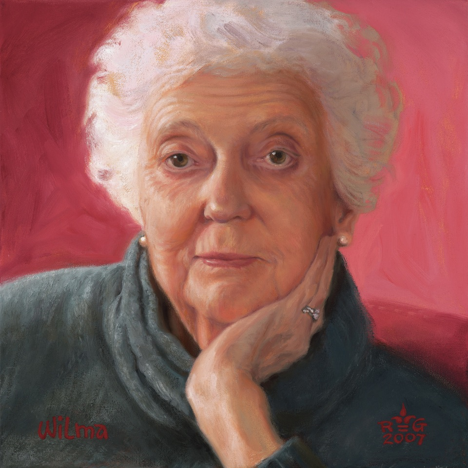 """Wilma"", featured in ""A Portrait: The Face we Present to the World"""