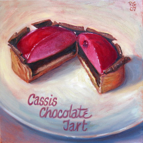 PASTRY #3, SOLD, collection of Thomas Haas Patisserie, North Vancouver, BC
