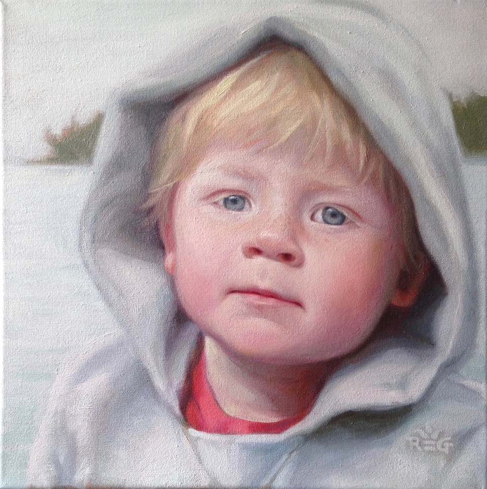 """Elijah"", winner of Certificate of Merit in The Miracle of the Portrait Competition"