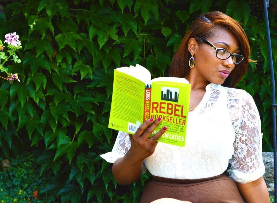 Bronx-native and lover of literature,  Noëlle Santos .