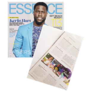 Essence Magazine:  June 2017 Issue. Trending Topics.
