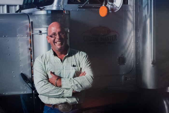 Heath MacDonald - CEO - Crude Master Tansport Inc.